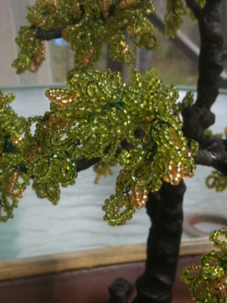 Beaded Bonsai Trees