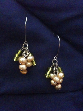 Beaded Grapes
