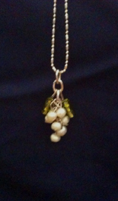 Beaded Pearl Grapes